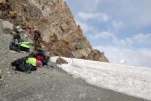 Дальше спуск с перевала Кой-авган
