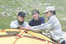 Палатка очень боится мастеров!