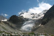 Высыхающий ледник