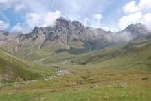 Гора Ирик-Чат-красота, но уже без снега