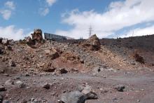 Завод для переработки Эльбруса в щебёнку