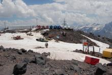 Это тоже Эльбрус, высота 3800