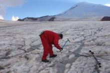 Интегрирующие ручьи ледника