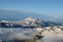 Погода и непогода над Главным Кавказским хребтом