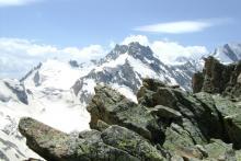 Вершины (Гадыл, Башкара, Уллу-кара, виднеется Бжедух!)