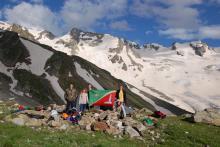 Знамя Зеленограда у ВИА-тау